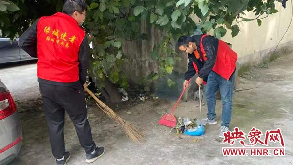 """郑州市政总公司""""绿城使者""""服务老旧小区 践行绿色施工"""
